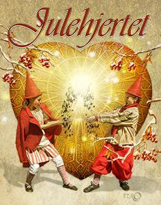 Julehjertet plakatbillede med titel