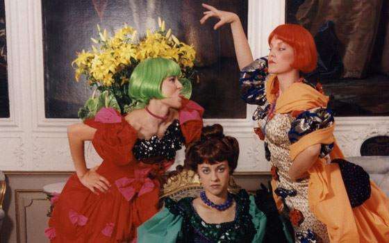 """Fra Eventyrteatrets musical """"Askepot"""" 1996"""