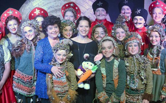 Amalie Dollerup, tidligere skuespiller på Eventyrteatret og modtager af Eventyrprisen 2016