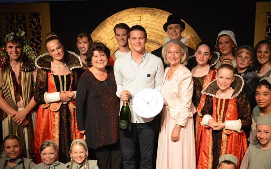 Alex Høgh Andersen modtog i maj 2018 Eventyrprisen - foto: Mikkel Hauge Kofoed