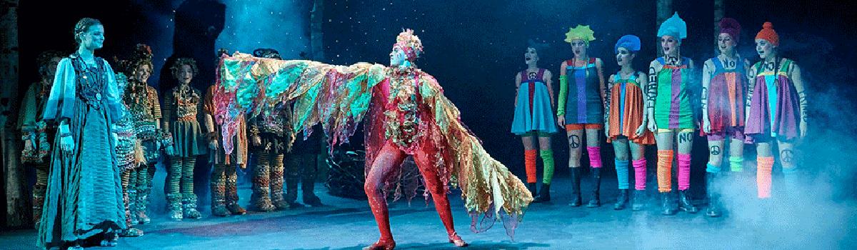 Fugl Fønix musical teater foto fra Glassalen i Tivoli