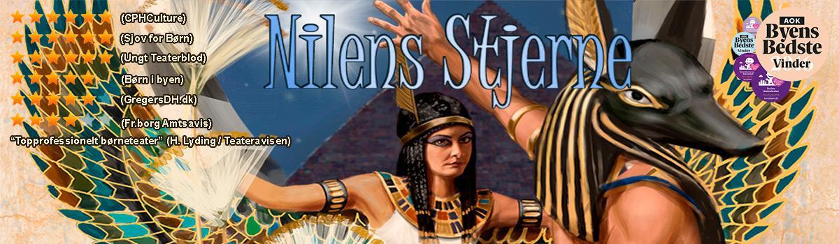 Nilens Stjerne teater musical plakat af Per O