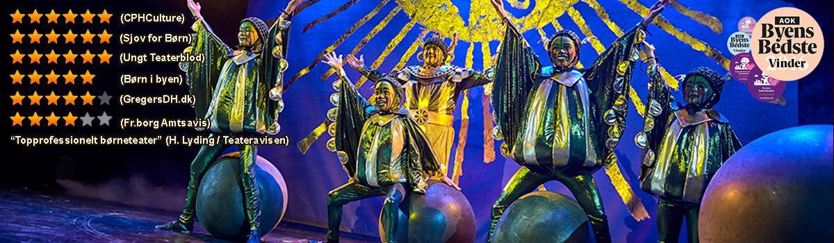 Nilens Stjerne teater musical foto af Ole Mortensen