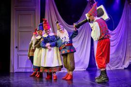 Stjernedrys og Nissekys teater musical fra Glassalen i Tivoli 2015