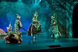 Teater musical Skovens Dronning - Eventyrteatret i Glassalen i Tivoli 2019, teater, børneteater, musical