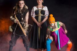 Pressefoto fra Fugl Fønix musical teater
