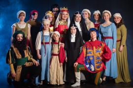 Fra Eventyrteatrets familiemusical Skovens Dronning, oktober 2019, Glassalen i Tivoli - Alle i Kalmar - teater, børneteater, musical