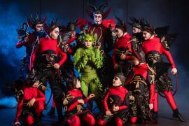 Teater musical Skovens Dronning - Eventyrteatret i Glassalen i Tivoli 2019Djævle