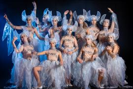 Fra Eventyrteatrets familiemusical Skovens Dronning, oktober 2019, Glassalen i Tivoli - Sylfider - teater, børneteater, musical