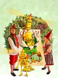 Julekortet - pressebillede af plakaten uden titel