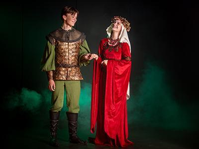 Pressebillede fra musicalen Robin Hood
