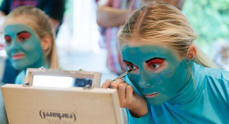 Optagelsesprøve til Eventyrteatrets Dramaskole 2021 fra 1. september til 15. oktober 2020 - foto: Hergaard Fotografi