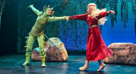 DVD med Eventyrteatrets musical Skovens Dronning