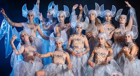 Kostumer til Eventyrteatrets musical Skovens Dronning