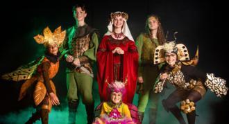 de første kostumer til Eventyrteatrets musical Robin Hood, der spiller 2. 18. oktober 2020 i Tivolis Glassal. - foto: Hergaard Fotografi