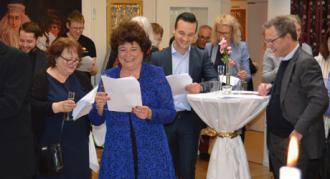 Teaterleder Susanne Vognstrups 60 års fødselsdag