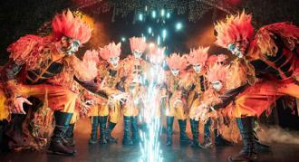 Fotos fra Eventyrteatrets musical Skovens Dronning