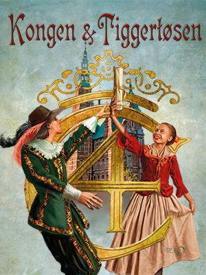 Plakat for Eventyrteatrets musical Kongen og Tiggetøsen 2017