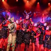 Fra Eventyrteatrets familiemusical Skovens Dronning, oktober 2019, Glassalen i Tivoli - Eventyrteatret i Glassalen - Djævle og Tutivillus - teater, børneteater, musical
