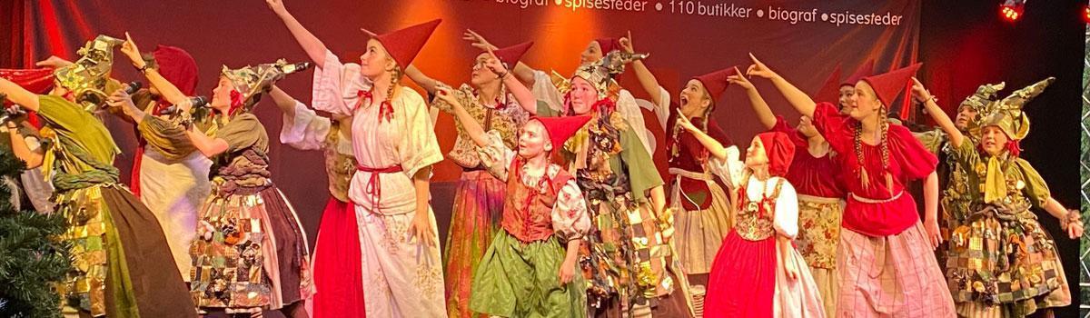 Eventyrteatrets juleshow i Waves 2019