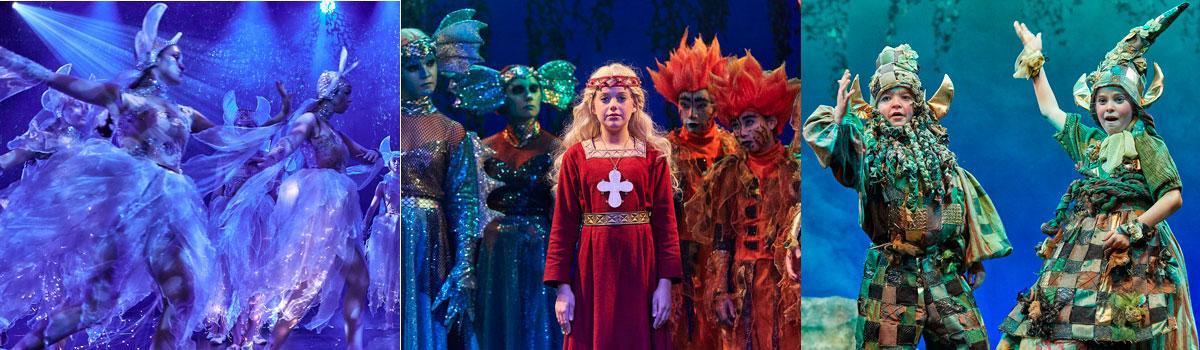 """Se Eventyrteatrets musical """"Skovens Dronning"""" gratis"""