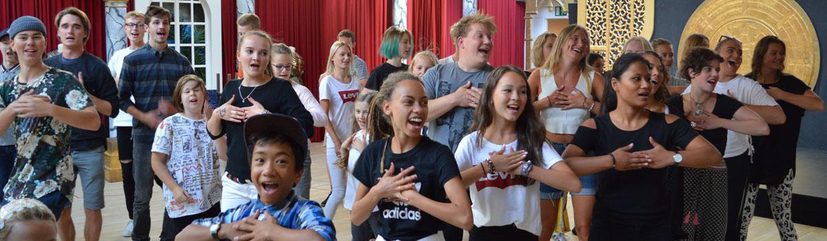 Optagelsesprøve til Eventyrteatrets Dramaskole 2019